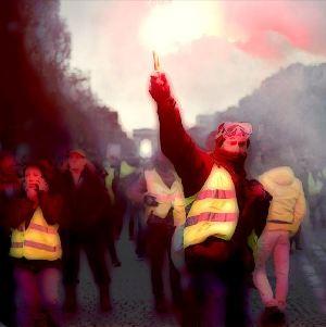 Die Bewegung der Gelbwesten in Frankreich