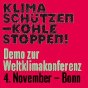 Demo zur Weltklimakonferenz *4. Nov*