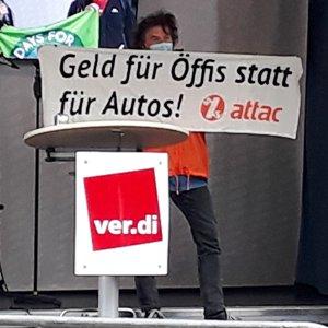 Solidarität mit den Streikenden