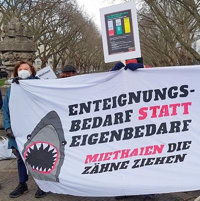 Housing Action Day - für bezahlbare Mieten in Düsseldorf